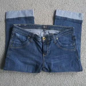 Mexx Women Capri Denim Jeans Size 10
